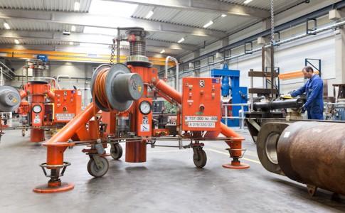 Hydraulic repair of hydraulic aircraft jacks