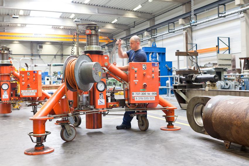 Hydraulic aircraft jack repair