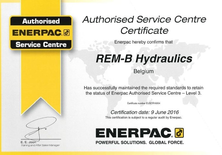 enerpac service center