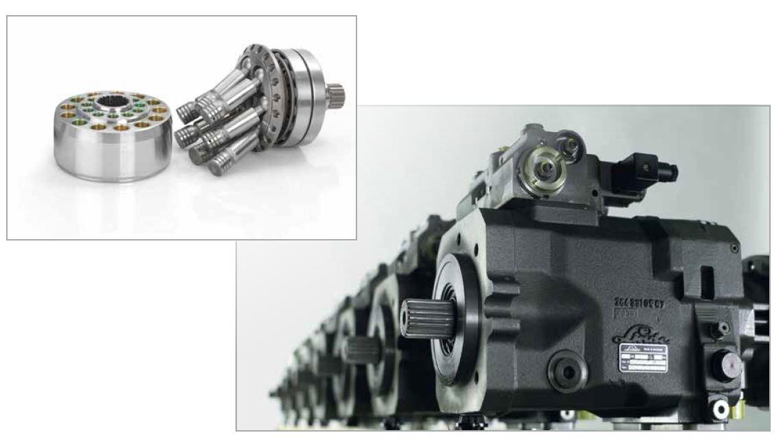Linde hydraulic pump and parts