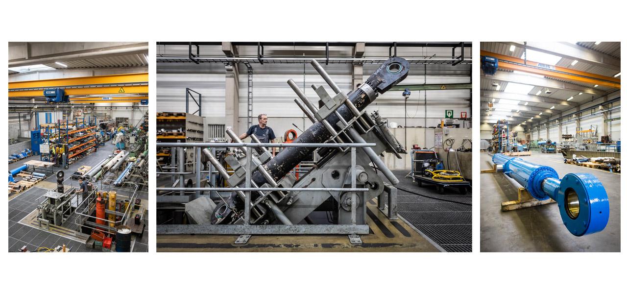 Repair Hydraulic cylinders REMB