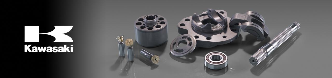 Dealer Kawasaki hydraulic pumps and spares