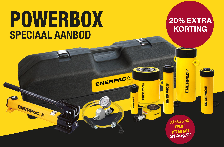 Geniet nu van Remb's enerpac powerbox promo